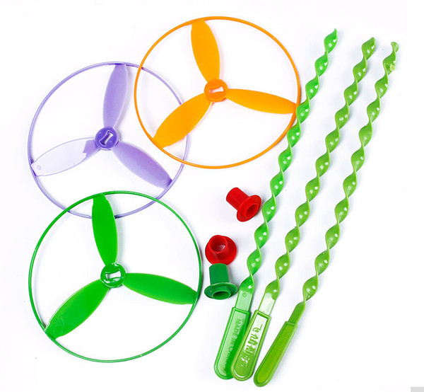 best selling Creative Novelty Toys Spin Colorful Light Outdoor Toy Flying Saucer Disc Frisbee Category UFO Plastic Kids Toys Baby Gift Wholesale
