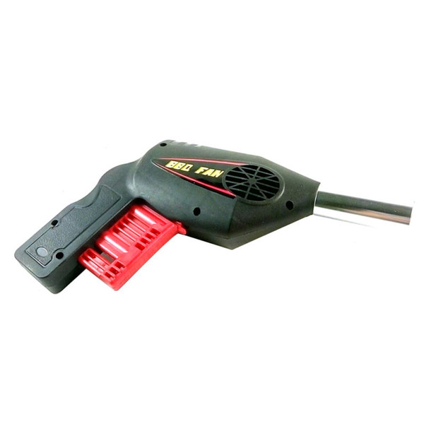 Nueva barbacoa Grill Fan Air Fire Blower Gun utilizado para Picnic al aire libre Camping Cooking