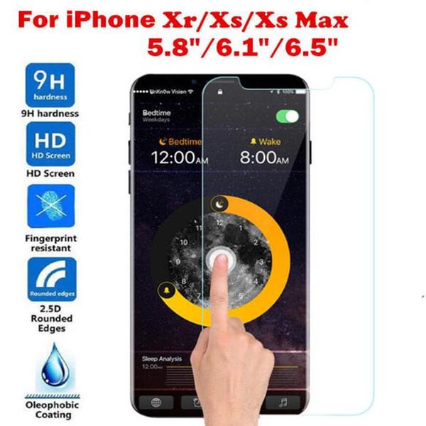 2.5D Закаленное стекло для iPhone Xs 5,8