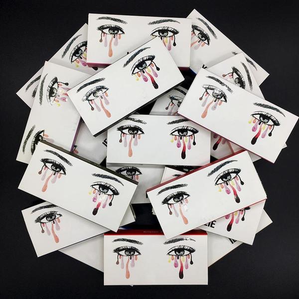 Handmade 3D Mink Eyelashes Thick Solid Stereo Long False Lashes Eyes Makeup Beauty Eyelash Extensions Individual Mink Eye Lashes