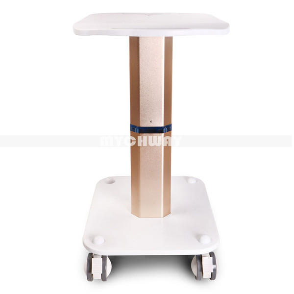 Best Sale Professional Assembled Trolley Stand Rolling Cart 4 Wheels Styling Pedestal Stand for Hifu Ultrasonic Cavitation IPL Laser Machine