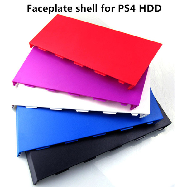 top popular Free shipping Replacement Hard Disc Drive HDD Bay faceplate shell Cover Case for PS4 Console 5 colors option 2020