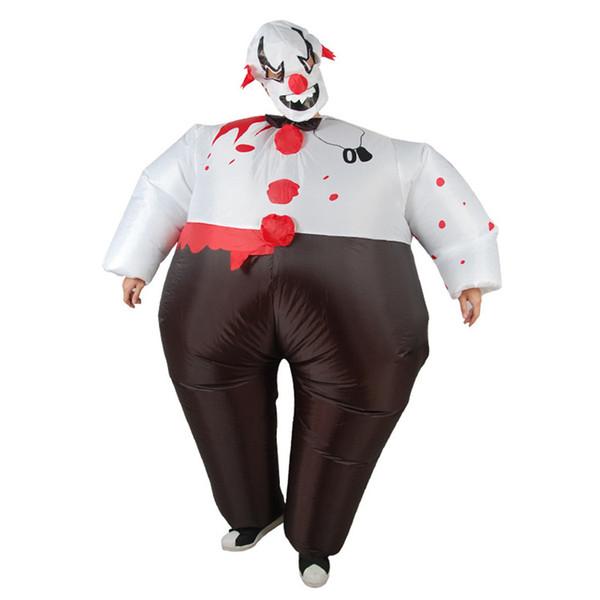New Purim Speckle Clown Halloween Costume for Kids Adult Cosplay Costume disfraz hombre Cosplay men