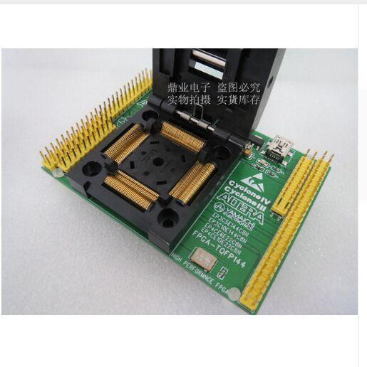 Orijinal Altera IC Test Koltuk EP4CE6E22 / EP4CE10E22C8N Yanan Programlama Soket Adaptö