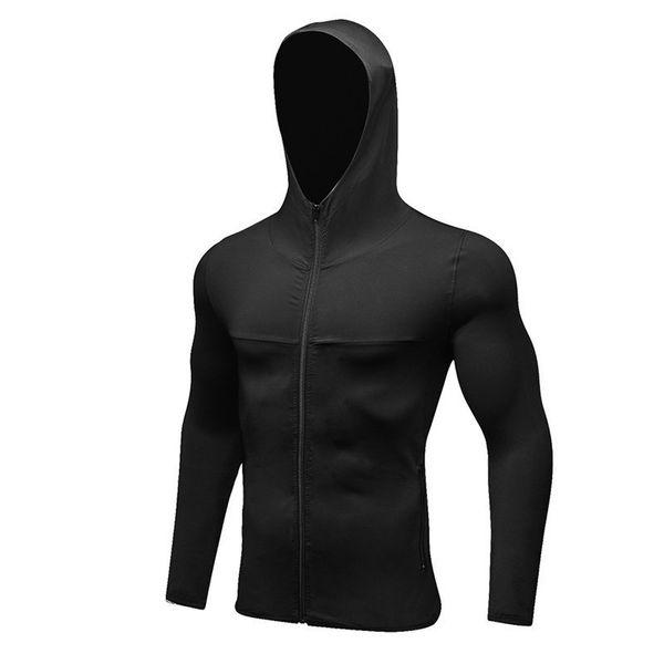 Men Running Sport Jacket Hoodie Sportswear Training Fitness Gym Jacket Sports Wear