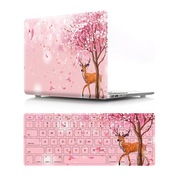 hrh-x-19 Oil painting Case for Apple Macbook Air 11 13 Pro Retina 12 13 15 inch Touch Bar 13 15 Laptop Cover Shell