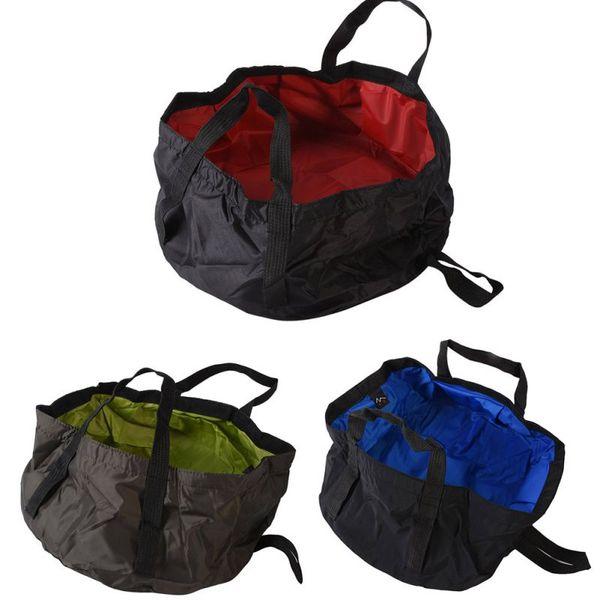 Portátil Ultra-light 7-8.5L Sobrevivência Ao Ar Livre Dobrável Bacia de Acampamento Sobrevivência Camping Equipamentos Kit de Viagem Sacos De Piquenique