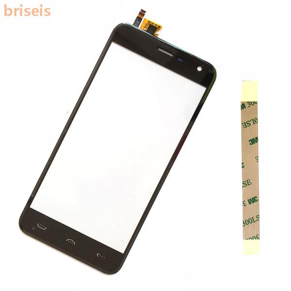 briseis Touch Panel For Homtom HT3 Sensor Touch Screen Digitizer glass For Homtom HT3 pro 5.0 Phone Sensor