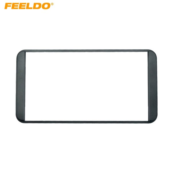 FEELDO Car Refitting 2DIN DVD Frame DVD Panel Dash Kit Fascia Radio Audio Frame For Toyota Prado 4500 2DIN #3634