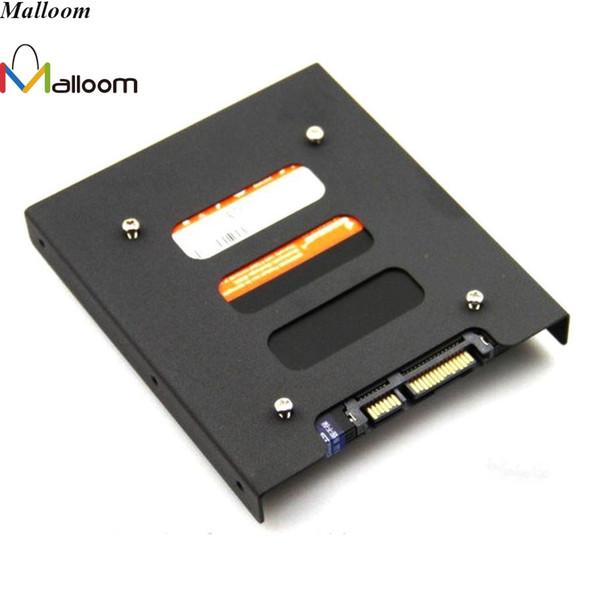 Malloom 2017 2.5 '' SSD HDD Için 3.5 '' Sabit Disk Tutucu Adaptör Montaj Adaptörü Braketi Dock Muhafaza Tutucu PC Için Bağlamak