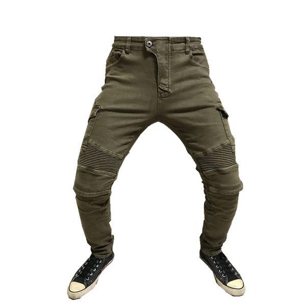 2018 New Model Motocross riding pants, anti-fall pants, slim outdoor riding pants motorcycles pants+Protective gear