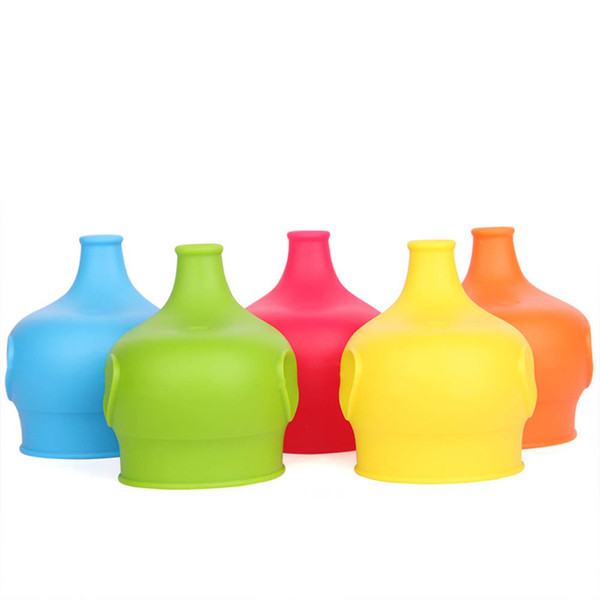 1PC Silicone Sippy Lids For Baby Kids Drinking Converts Any Glass to A Sippy DB