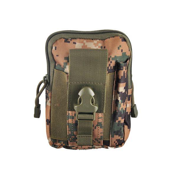 Unisex Outdoor Sport Tactical Belt Loops Waist Bag Molle Waist Fanny Pack Smartphone Mobile Phone Case Tool Bag Pack