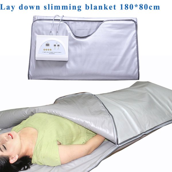 FIR Sauna Far Infrared Body Slimming Sauna Blanket Heating Therapy Slim Bag Sauna Thermal Blanket Weight Loss Body Detox Machine For Salon