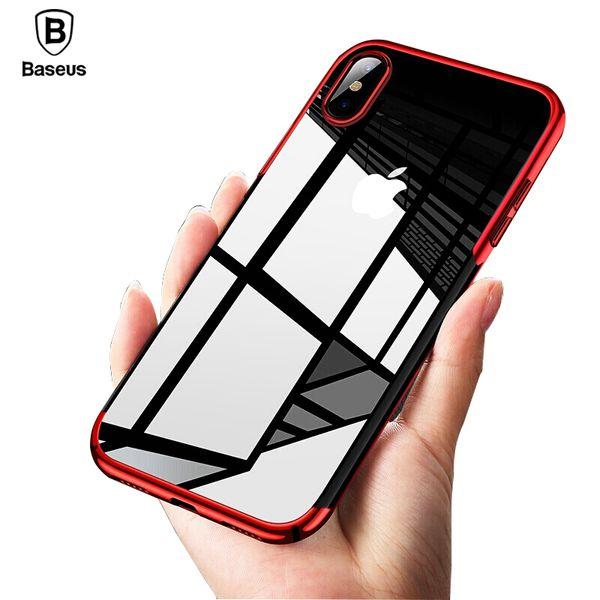 coque iphone xs anti drop plating