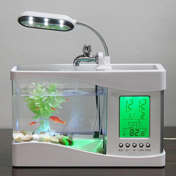 h4874w fish tank mini usb lcd desktop lamp light fish tank het rh dhgate com