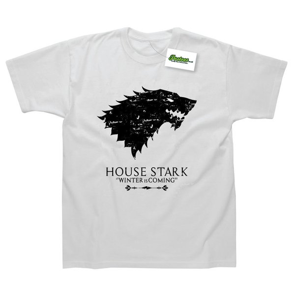 House Stark Inspired by Game Of Thrones Printed T-Shirt Cool Casual pride t shirt men Unisex New Fashion tshirt