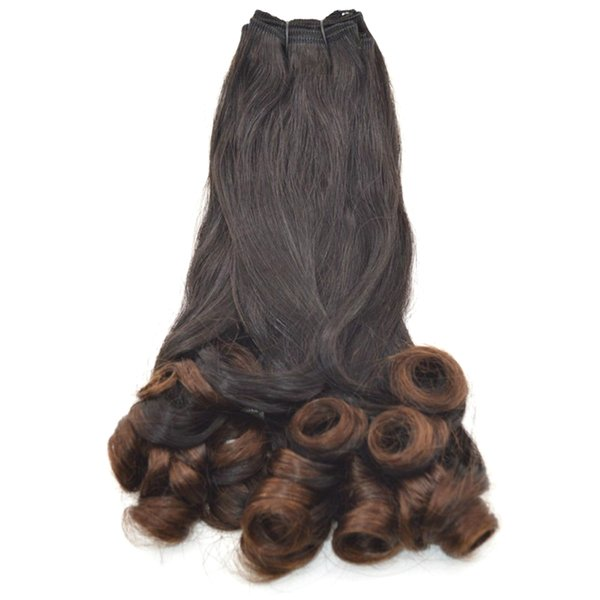Brazilian Funmi Human Hair 3 Bundles Natural Black Double Drawn Virgin Hair Weaves 8-30 inch FDshine