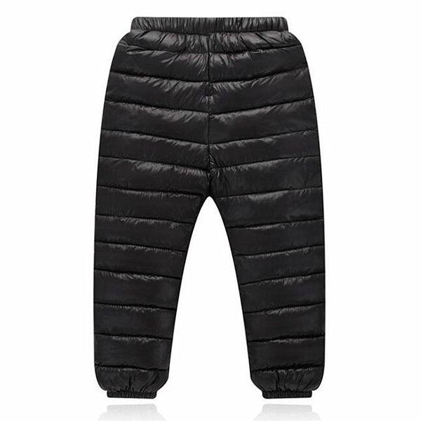 Winter Kinder Mädchen Leggings Daunen Baumwolle Warme Elastische Taille Dicke Hosen Hosen Kinder Jungen Mädchen Kleidung