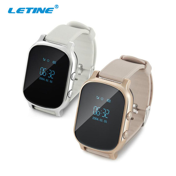 Letine Smart Watch Android T58 Kids Children's Clock with GPS and Phone Function Electronics Wearable Devices Q90 for Smartphone