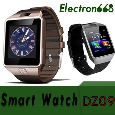 DZ09 Montre Smart Watch Dz09 Montres Bracelet Android Montre Smart SIM Intelligent Téléphone Mobile Etat de Veille Veille intelligente Retail Package