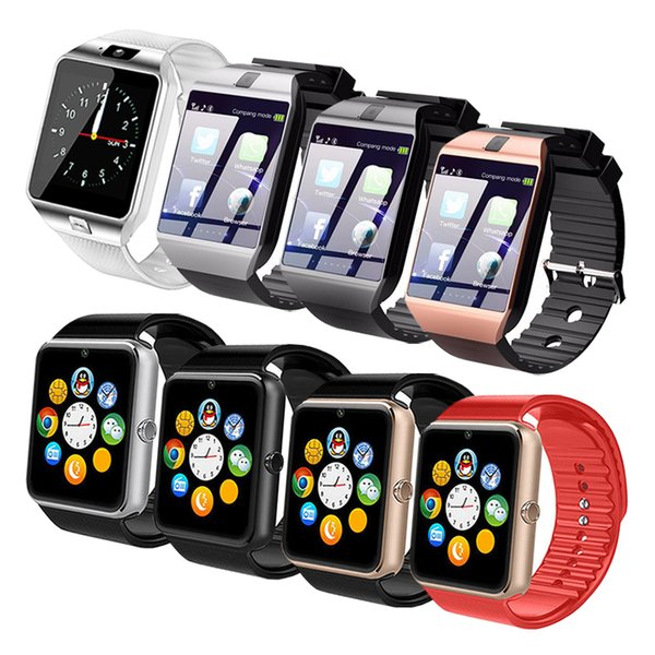 Bluetooth Smart Watch DZ09 GT08 Smartwatch Support SIM TF Card With HD Camera Smart Wrist Watches For iOS Android Phone