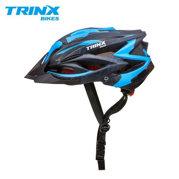 TRINX Cycling Helmet Mens Bicycle Helmet Professional Mountain Racing Bike IN-MOLD Adjustable Safely Cap