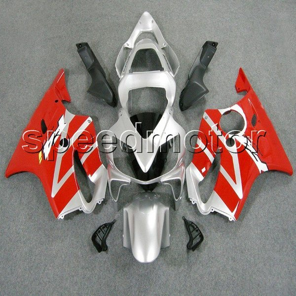 colors+Gifts Injection mold red silver CBR600 F4i 01-03 motorcycle cowl Fairing for HONDA CBR 600F4i 2001 2002 2003 ABS plastic kit