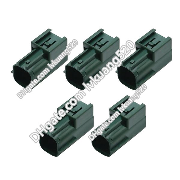 5 Sets 4 Pin Waterproof Connectors Automotive Terminal Block Connectors With Terminals 6181-0513, DJ70423-2.2-11