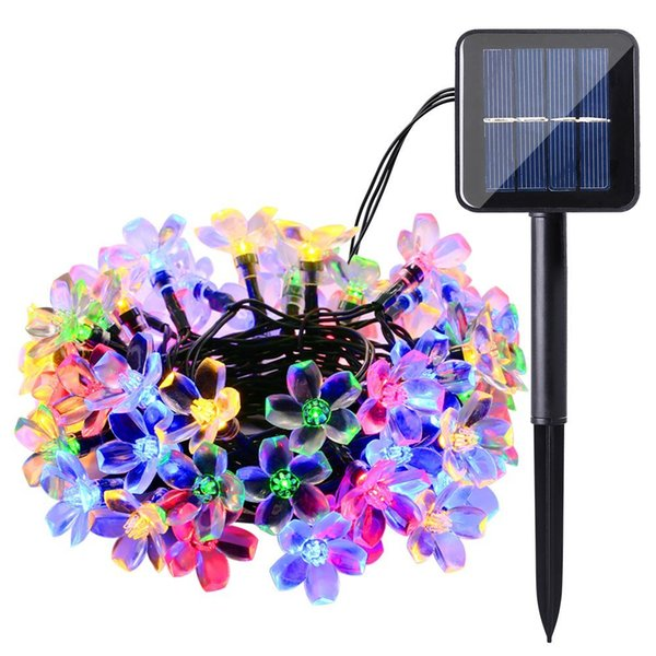 Solar LED String 7M 50 LEDs Solar Powered String Lights Waterproof Garland LED Decoration Outdoor Fairy Lights for Holiday