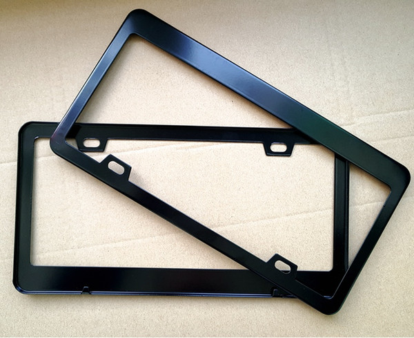 Audi Plate Frame >> American Canada Standard Stainless Steel Car License Plate Frame Universal Use For Bmw Audi Benz Chevrolet Ford Vw Toyota Honda Uk 2019 From