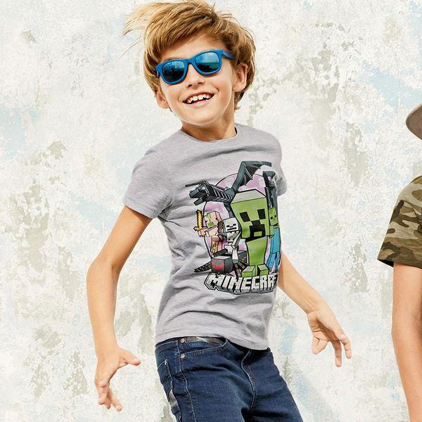 Little Maven 2018 4 -10 Años Niños Grandes Marca Moda Chicos Camisetas Chico Camisetas Para Niños 100% Algodón Niños Ropa de Verano