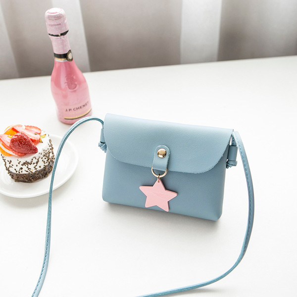 2018 New Arrival Pink MINI Cell Phone Pocket Shoulder Bags MINI Small Shoulder Bags Waterproof Messenger Change Purse