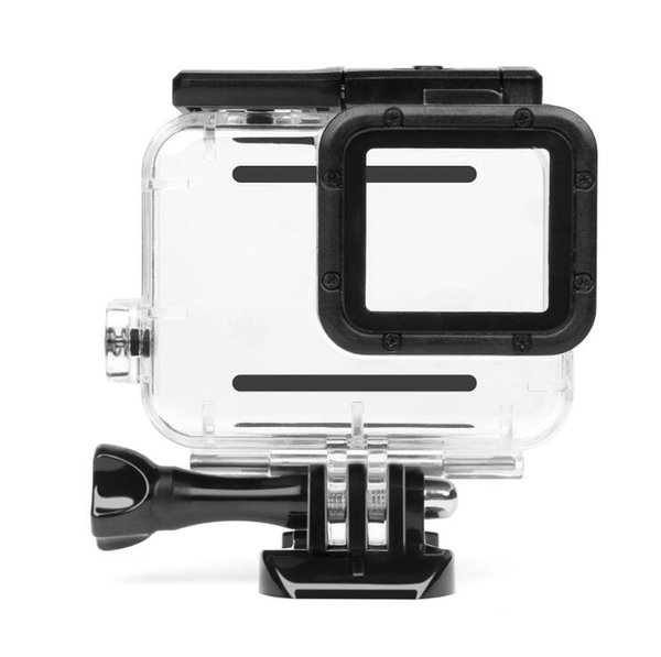 45m Waterproof Case for Gopro Hero 5 6 Black Edition Camera with base Mount Protective HERO 5 6 Case Go Pro Accessories
