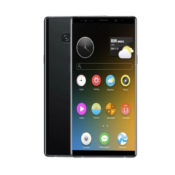 6.5inch Goophone N9 1GB RAM 8GB ROM MTK6580 QuadCore 8MP Andriod6.0 Sealed Box 3G WCDMA Glass Back Cover SmartPhone Fingerprint Optional
