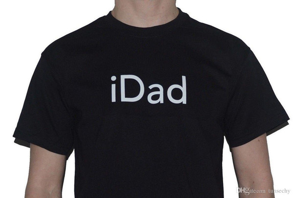 iDad T-Shirt Mens (Great Fathers Day Gift / Present) iPhone user Inspired Tee