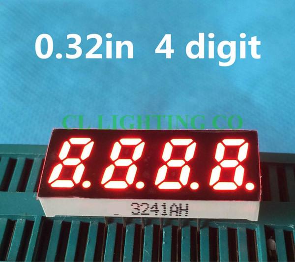 2019 4 Bit 7 Segment RED LED Display 0 32 Inch Digital Tube Plastic Metal  Common ANODENixie Tube From Callaway, $29 38 | DHgate Com