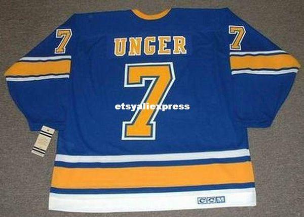 28d67cb23 custom Mens GARRY UNGER St. Louis Blues 1972 CCM Jerseys Vintage Cheap  Retro Hockey Jersey