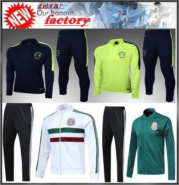 6b779e12e AAA+ Mexico soccer Jacket training suit 2018 World Cup Mexico tracksuit  CHICHARITO national team 18 19