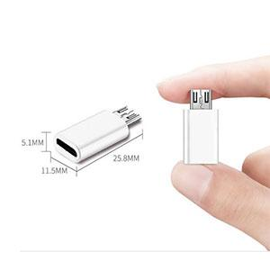 Micro usb to Type c (Mix color)