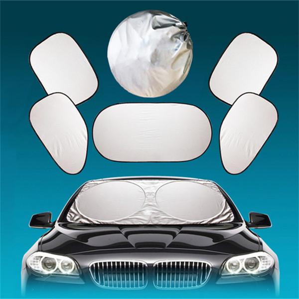 Accessories Car Window Sun Shade Car Windshield Visor Cover Block Front Window Sunshade UV Protect Car Window Film