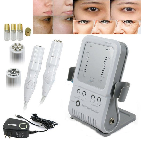 2 In 1 RF Skin Rejuvenation Beauty Facial Machine Radio Frequency Mesotherapy No Needle Free Wrinkle Removal Skin Tighten