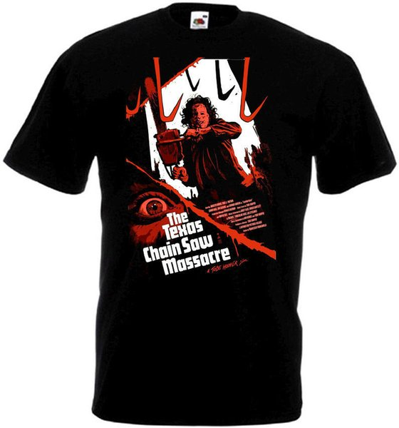 Pure Cotton Round Collar Novelty Men Crew Neck Short-Sleeve The Texas Chain Saw Massacre V2 T-Shirt All Sizes Sizes S To 3XL