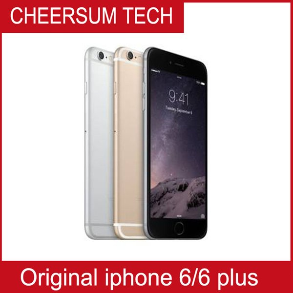 Refurbished Unlock Original Apple iphone 6/6 plus With Fingerprint 4.7inch Screen 16G 64G 128G IOS iphone6 Cell Phone
