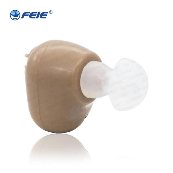 Портативный мини-цифровой Перезаряжаемый слуховой аппарат прочное шумоподавление цифровые слуховые аппараты для пожилых людей усилитель звука S-102
