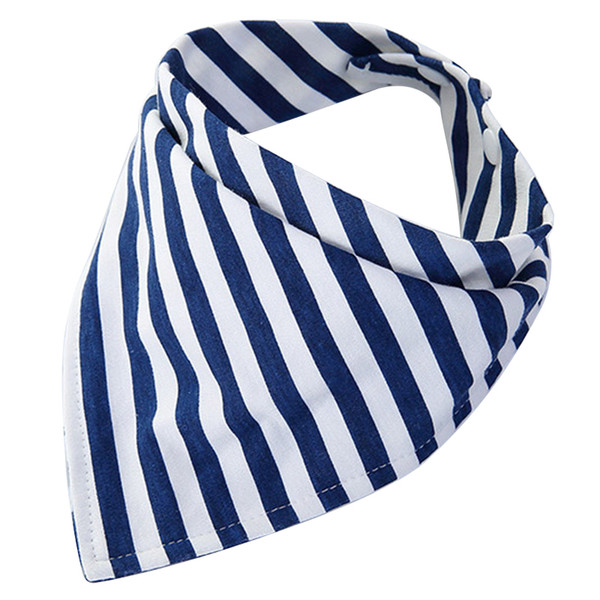 Baby Striped Bibs Girls Boys Infant Saliva Towel Child Solid Cotton Soft Care Accessories