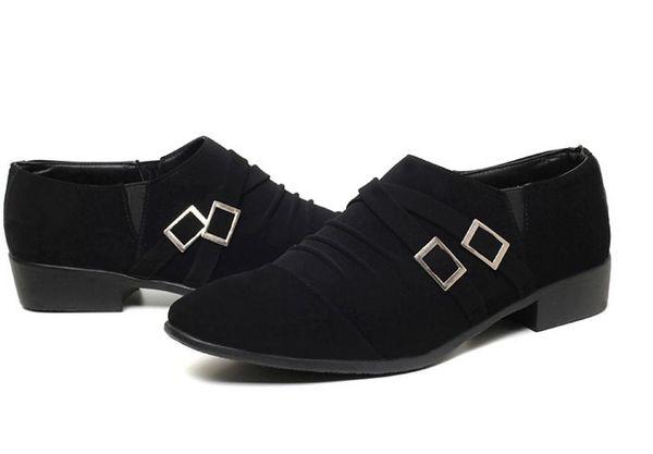 Envoi gratuit Hot Summer hommes coréens chaussures bout pointu