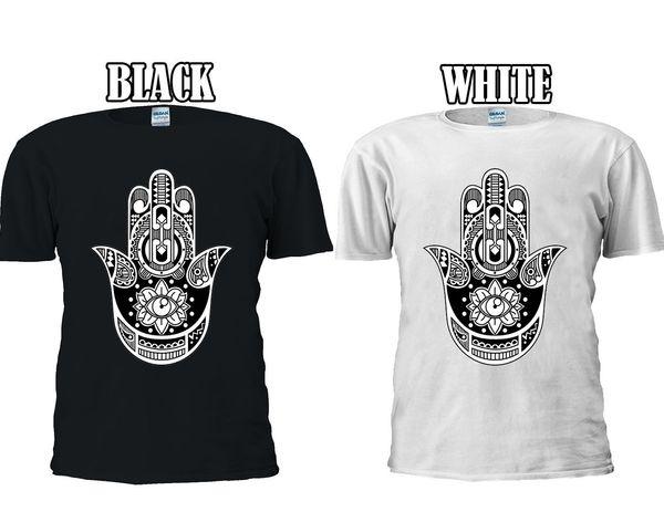 Hamsa Hand Khamsa Defend Evil Eye T-shirt Vest Tank Top Men Women Unisex 1329