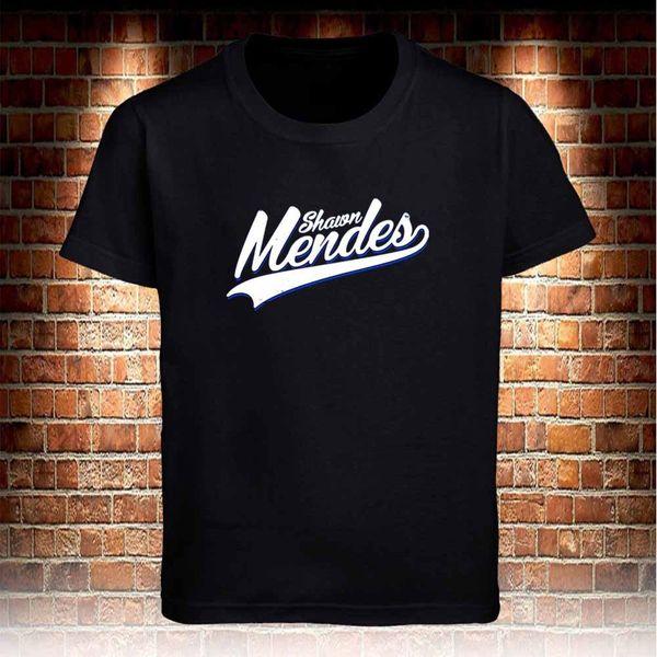 Shawn Mendes camiseta negra para hombre S a 3XL Divertido envío Unisex tee