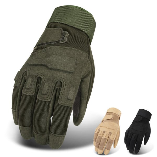 Tactical Gloves SWAT Finger Gloves Men Army Outdoor Shooting Climbing Combat Paintball Half Full